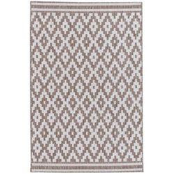 Dekoria dywan modern rhombs mink/wool 160x230cm, 160x230cm
