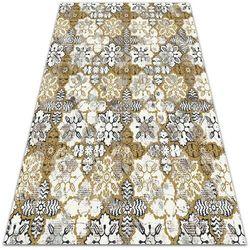 Uniwersalny dywan winylowy Uniwersalny dywan winylowy Kwiatowa abstrakcja