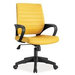 Fotel obrotowy q-051 żółty marki Signal meble