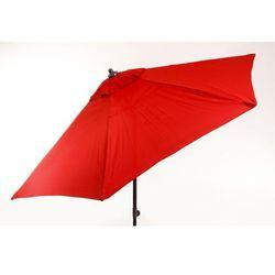 M-TREND parasol ogrodowy Venice - czerwony - produkt z kategorii- Parasole ogrodowe