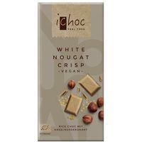Ichoc czekolada biała nugatowa z orzechami laskowymi (na napoju ryżowym) bio 80 g - vivani marki Vivani (cze