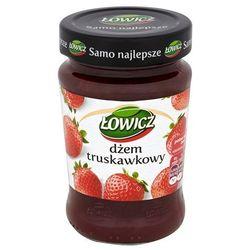 dżem truskawkowy niskosłodzony 280 g od producenta Łowicz