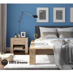 Łóżko dębowe Imperata 02 160x200