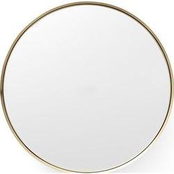 Lustro darkly mirror 20 cm szczotkowany mosiądz marki Menu