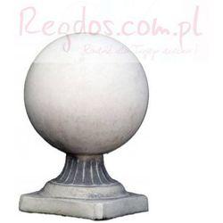 Element ozdobny dekoracja betonowa, wzór kula