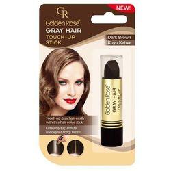 Golden Rose Gray Hair Touch-up Stick - Sztyft na odrosty 02 Dark Brown - sprawdź w ekobieca.pl