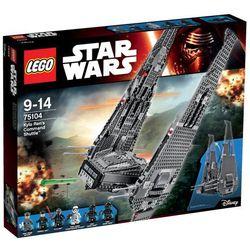 Star Wars Kylo Ren's Command Shuttle 75104 marki Lego - klocki dla dzieci
