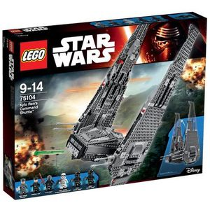 75104 Kylo Ren's Command Shuttle KLOCKI LEGO STAR WARS