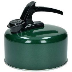 Highlander czajnik emaliowany z gwizdkiem 2l zielony - zielony (5034358091200)