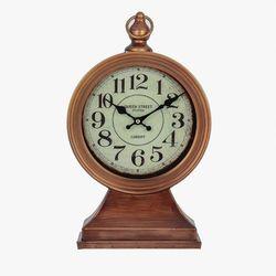 Dekoria zegar stojący queen street wys. 44cm, 24x11x44cm