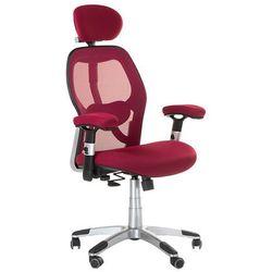 Fotel ergonomiczny bx-4144 czerwony marki Corpocomfort