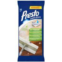 Presto clean Presto 16szt ściereczki nawilżane do czyszczenia podłóg