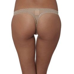 Calvin Klein Underwear SEDUCTIVE COMFORT Stringi dune