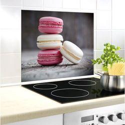 Szklana płyta ochronna macarons na ścianę - 50 x 60 cm,  marki Wenko