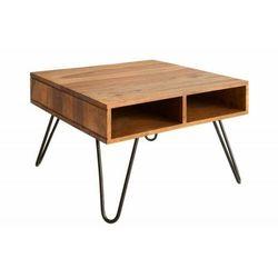 Sofa.pl Invicta stolik kawowy scorpion 60cm - sheesham, lite drewno, metal