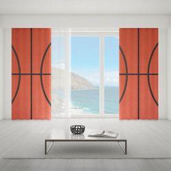 Zasłona okienna na wymiar - BASKETBALL BALL LINES
