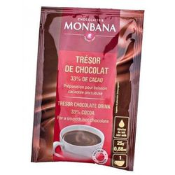 Czekolada na gorąco Monbana Tresor - saszetka 25g