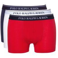 Ralph Lauren Bokserki 3-pak Niebieski Czerwony Biały S (3607997816569)