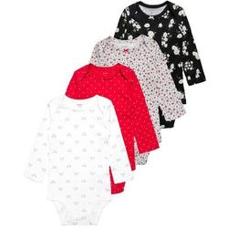 Carter's HOLIDAY 4 PACK Body multicolor - produkt z kategorii- Body niemowlęce