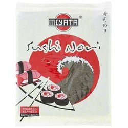 Algi morskie prażone Nori do sushi 10 arkuszy Miyata
