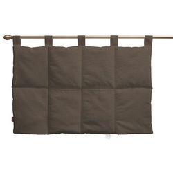 Dekoria Wezgłowie na szelkach, brązowy, 90 x 67 cm, Etna