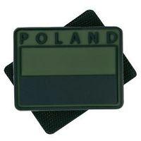 Helikon-tex / polska Naszywka emblemat flaga pl kpl. 2szt. pvc olive green (od-fp2-rb-02) (5908218709874)