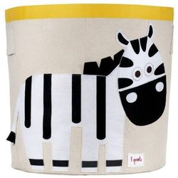 Kosz na zabawki - zebra - produkt z kategorii- Pojemniki na zabawki