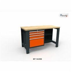 """Malow Stół narzędziowy st 14/09 """"dwójka"""" warsztat metalowy na klucz"""