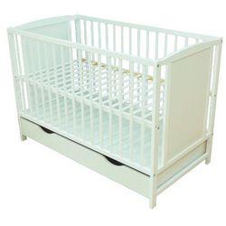 Łóżeczko niemowlęce z szufladą bajka marki Skrzat