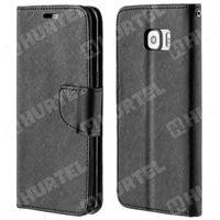 Kabura pokrowiec Fancy Series Samsung Galaxy S6 Edge Plus czarny - Czarny - sprawdź w wybranym sklepie