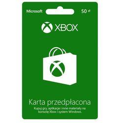 Karta Xbox Live 50 PLN do wykorzystania we wszystkich sklepach Microsoft, kup u jednego z partnerów