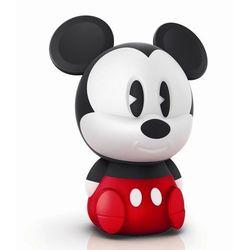 Disney - lampka nocna ładowana softpal led mickey mouse wys.18cm, marki Philips