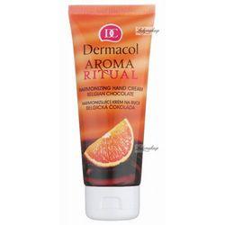Dermacol - AROMA RITUAL - HARMONIZING HAND CREAM - BELGIAN CHOCOLATE - Krem do rąk o zapachu BELGIJSKIEJ CZEK