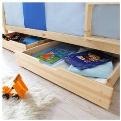 Ticaa szuflady do łóźek piętrowych 2 szt. kolor naturalny marki Ticaa kindermöbel