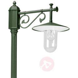 K. s. verlichting Elegancka latarnia louvre, zielona-przezrpczysta