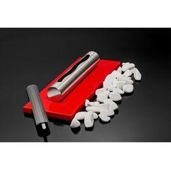 Globmetal Biokominek stołowy stainless czerwony połysk