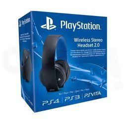 Sony PlayStation Wireless Stereo Headset 2.0 (czarny) - produkt w magazynie - szybka wysyłka! - produkt z kat