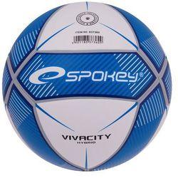 Piłka nożna SPOKEY Vivacity Niebiesko-Biały (rozmiar 5) (5901180373609)
