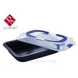 Renberg Forma do pieczenia z przykrywką  rb-3546