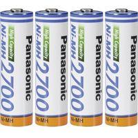 Panasonic Akumulatory aa, nimh , 1.2 v, 2700 mah, 4 szt. (5410853052807)