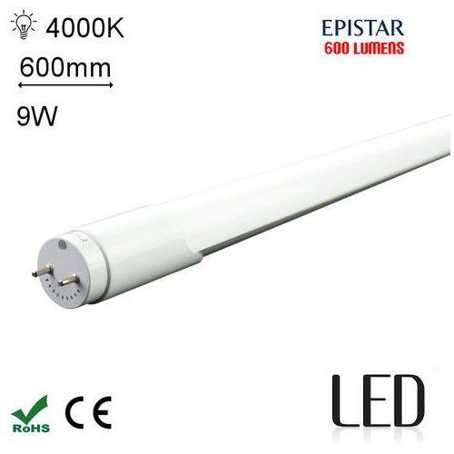 LED 60CM T8 9W 4000K SC Świetlówka LED neutralna 600mm G13 o mocy 9W 600 lumenów 4000K ze sklepu Avde.pl