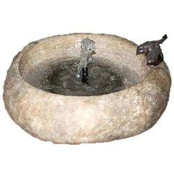 Velda Kamienna fontanna ogrodowa z miską dla ptaków, 851284 (8711921257474)