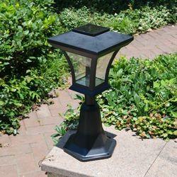 Lampa, latarnia solarna, ogrodowa, nagrobkowa, wysokość 46cm., 121