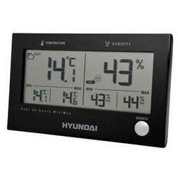 Stacja meteo ws 2215 b czarna marki Hyundai