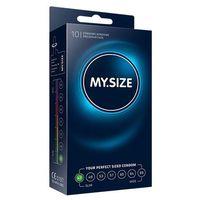 Dopasowane prezerwatywy -  natural latex condom 47mm 10szt marki My size