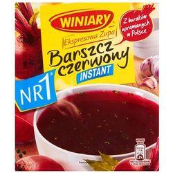 WINIARY 60g Ekspresowa Zupa Barszcz czerwony instant - sprawdź w wybranym sklepie
