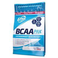 6pak  bcaa pak - 800g +100g free - lychee grape
