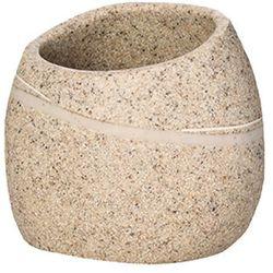 pojemnik stone, piaskowy, 9x7,5x8 cm marki Wenko