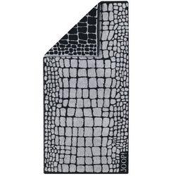 Joop!  ręcznik kąpielowy gala croco graphit, 80 x 150 cm