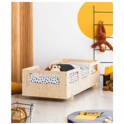 Drewniane dziecięce łóżko w stylu skandynawskim 16 rozmiarów - filo 9x marki Producent: elior